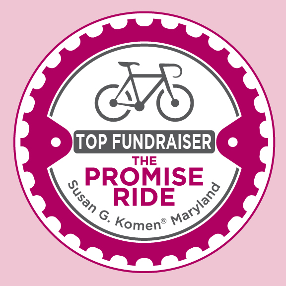 Promise Ride Top Fundraiser Badge